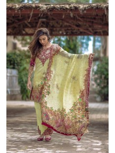Noor By Sadia Asad Luxury Lawn Collection' Bejweled tale