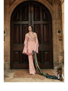 Tabassum Mughal Luxury Lawn Collection'17D-4A