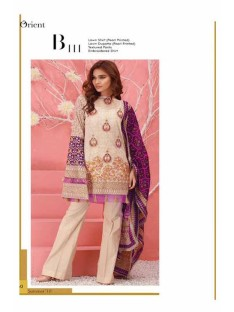 Orient Summer Series II Lawn Collection-111B