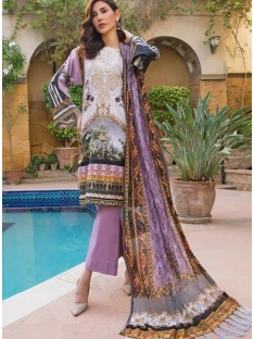 AyeshaNoor Satin silk 19  02 purple