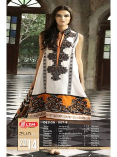 Zunuj by Lsm Lawn Collection-D-007B