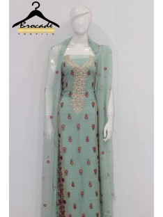 Brocade Chiffon Series Vol 1 By LakhaniStudio Collction'19-D-09