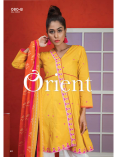Orient Blended Chiffon Vol1 Collection'19-080-B