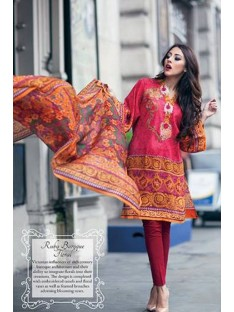 Farah Talib Aziz Garden Of Grace By LSM Designer Collection-12A