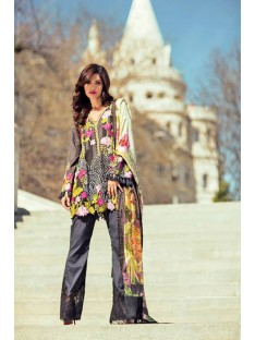Mina Hasan Embroidered Lawn Collection-1-A