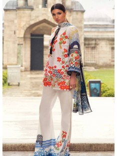 Mina Hasan Luxury Embroidered Lawn Collection-8-A