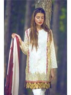 Mina Hassan Embroidered Lawn Collection'16-D-01