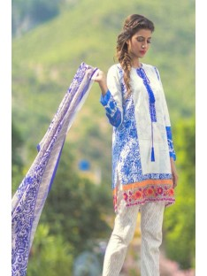 Mina Hassan Embroidered Lawn Collection'16-D-04