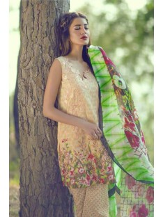 Mina Hassan Embroidered Lawn Collection'16-D-07