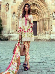 Mina Hasan Luxury Embroidered Lawn Collection-5a offwhite17