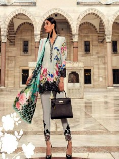 Mina Hasan Luxury Embroidered Lawn Collection-6a ferozy17