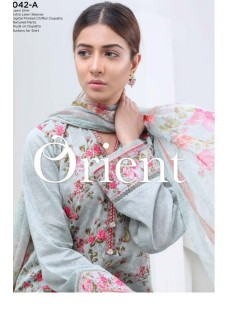 Orient Spring Summer Vol1 Vintage Chiffon Collection'19-042-A