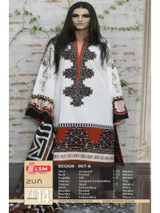 Zunuj by Lsm Lawn Collection-D-007A