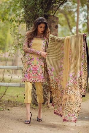 Noor By Sadia Asad Luxury Lawn Collection' Wild Safari