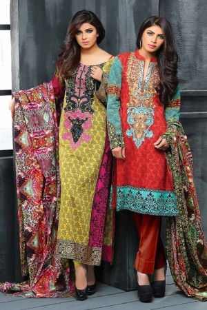 Lala classic linen embroidered collection-16-B