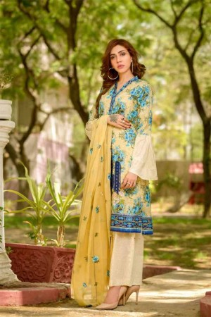 Lala Embroidered Designer Collection'19-D-01