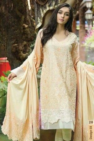 Noor-E-Fizzata Cotton Silk Collection-D-03