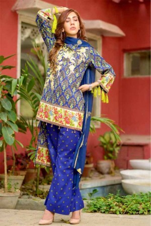 Lala Embroidered Designer Collection'19-D-02