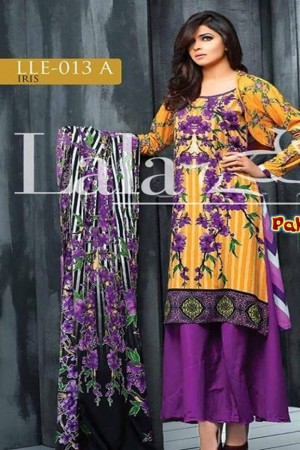 Lala classic linen embroidered collection-13-A