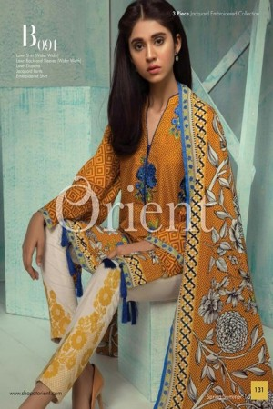 Orient Summer Series II Jaquard Embroidered Collection-091B