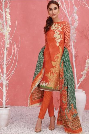 Orient Summer Series I Ethnic Stamp Embroidered Collection-129B