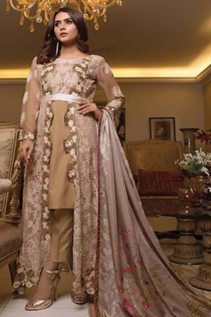 Zunairi Luxury Embroidered Chiffon Collection-D-06