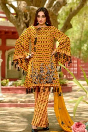 Lala Embroidered Designer Collection'19-D-05