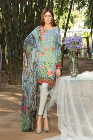 Adan's Libas Gardenia Embroidered Lawn Collection-D-02