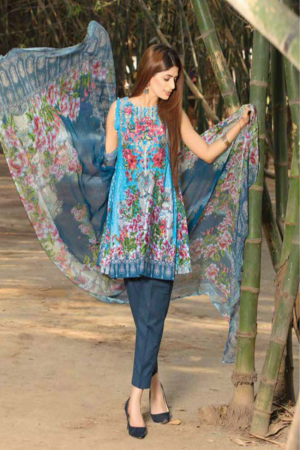 Adan's Libas Gardenia Embroidered Lawn Collection-D-05