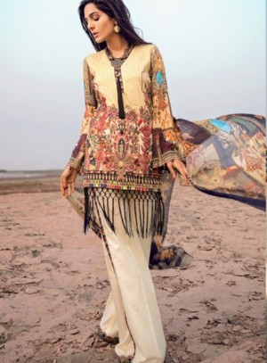 Adan's Libas Tales Of Eden Lawn Collection-Tales Of Egypt