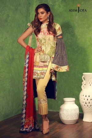 Asiim Jofa Crepe Silk Collection-D-01