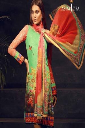 Asiim Jofa Crepe Silk Collection-D-02