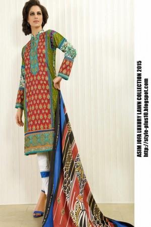 Asim Jofa Luxury Lawn Collection'AJL-03B