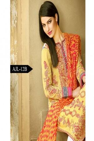 Asim Jofa Luxury Lawn Collection'AJL-12B