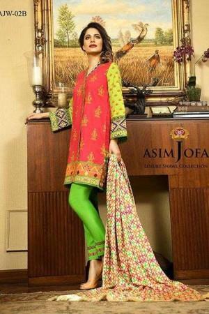 Asim jofa luxury winter shawl collection-02-B
