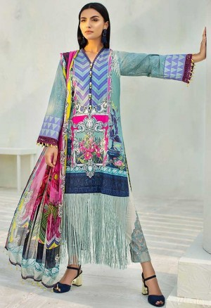 Auj Luxury Lawn Collection'18-D-03