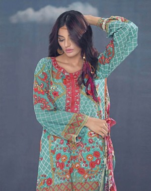 Auj Luxury Lawn Collection'18-D-04