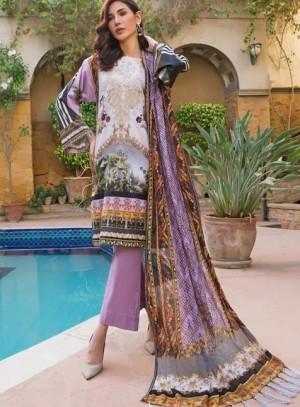 AyeshaNoor Satin silk 19  02 purple