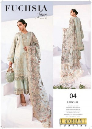 Baroque Fuchsia Lawn 2020 04