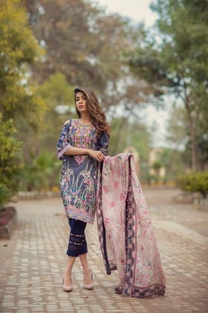 Noor By Sadia Asad Luxury Lawn Collection' pearl