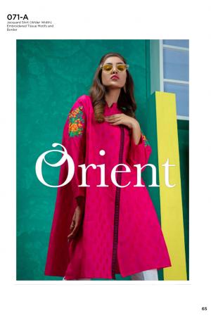 Orient Jaquard Kurti Vol1 Collection'19-071-A