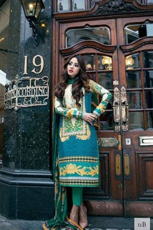 Farah Talib Aziz Garden Of Grace By LSM Designer Collection-11B