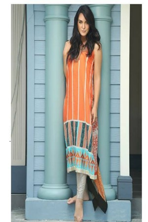 Firdous luxuary Collection Orange
