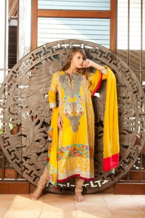 Firdous Spring Summer Collection'16-D-01