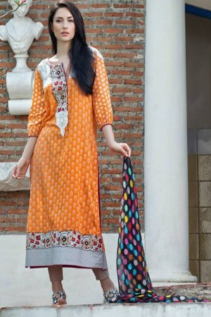 Firdous Spring Summer Collection'16-D-14