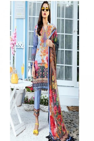 Gulaal Vol2 Embroidered Lawn Collection'18-D-03