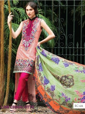 Charlotte Exclisive Cambric collection by lakhani 6a