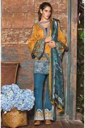 Mahgul Luxury Lawn Collection'17-D-02