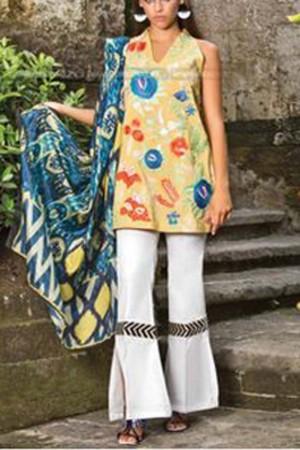Mahgul Luxury Lawn Collection'18-D-03
