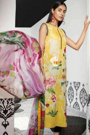 Mahgul Luxury Lawn Collection'18-D-06